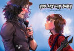 YOU ARE MY BABY - Im in the band fanbook cover