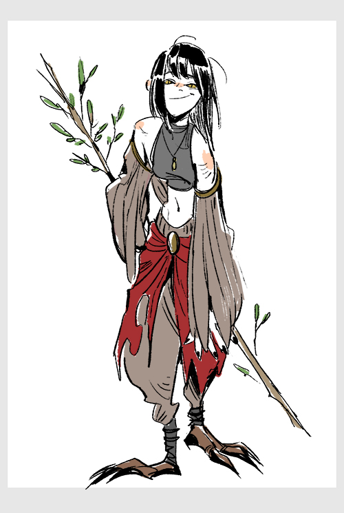Birdgirl by huanGH64