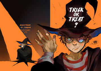 Drarry helloween fanbook by huanGH64