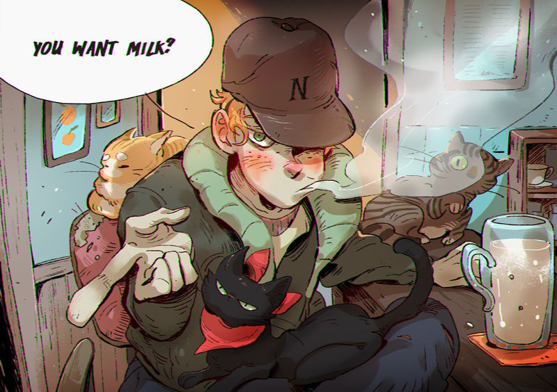 Cat-boy by huanGH64