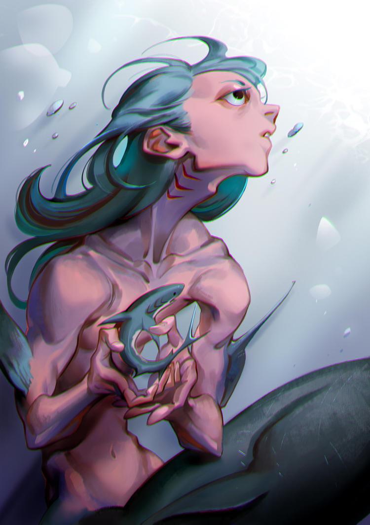 Shark Nanny by huanGH64