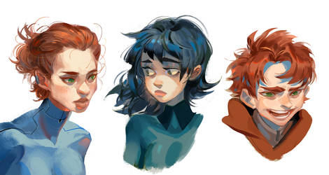 some practicing