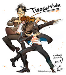 Twosetviolin by huanGH64
