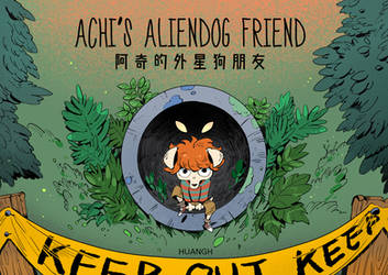 Achi's Aliendog Friend cover by huanGH64