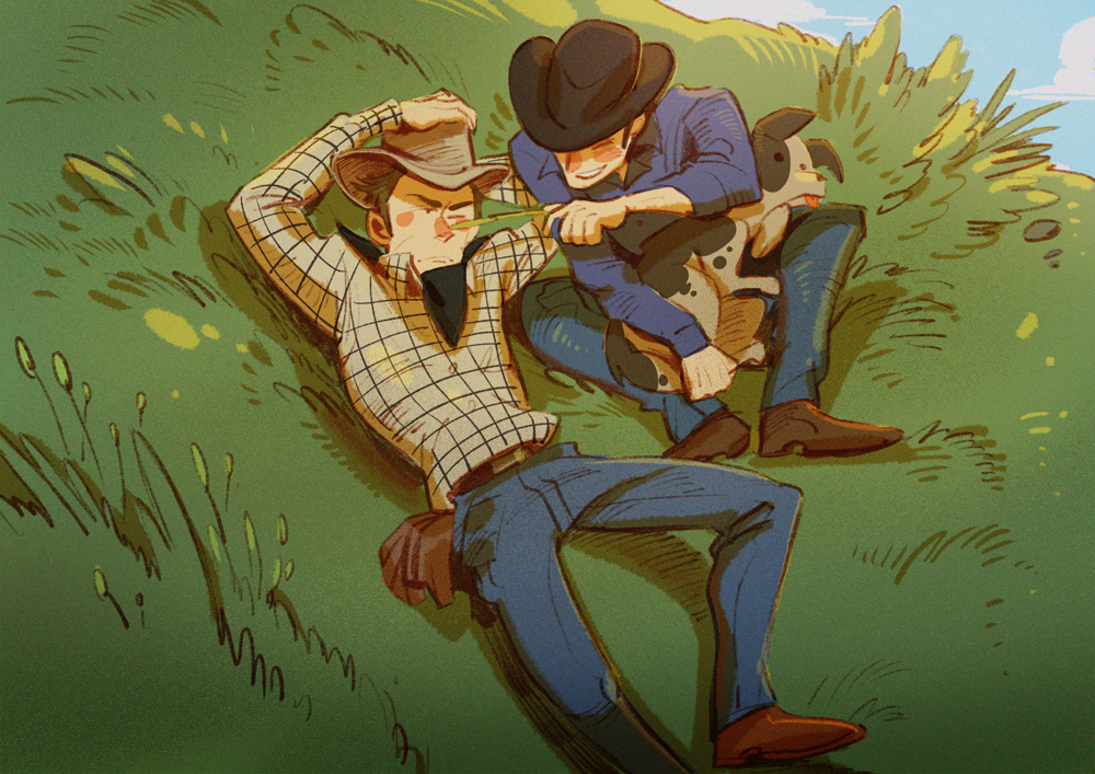 Jack And Ennis on Brokeback Mountain by huanGH64