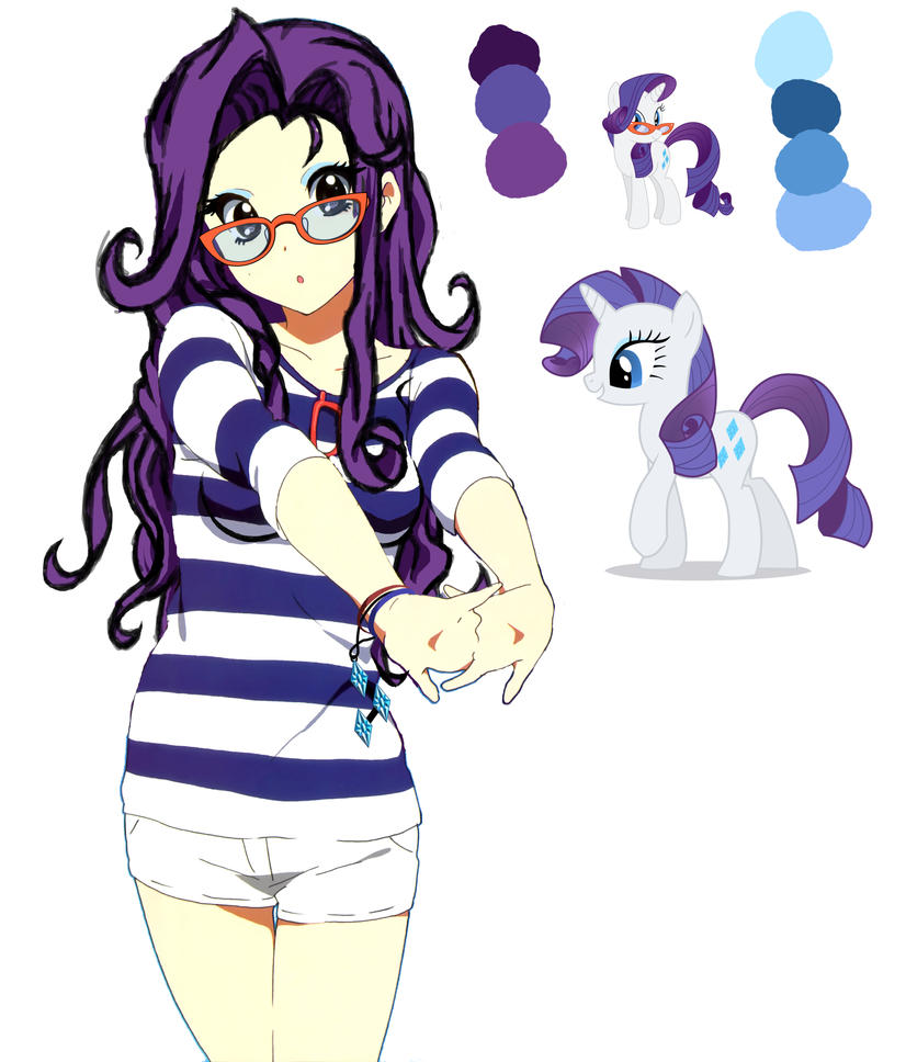 Rarity Anime Filter Trial by Sazuko