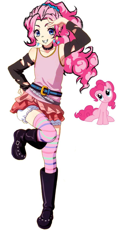 Pinkie Pie Anime Filter Trial by Sazuko