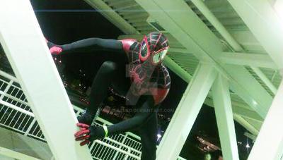 Ultimate Spider-Man Miles Morales Cosplay 2 by Sazuko
