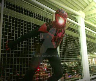 Ultimate Spider-Man Miles Morales Cosplay 4 by Sazuko