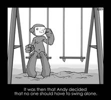 Andy Swings Alone