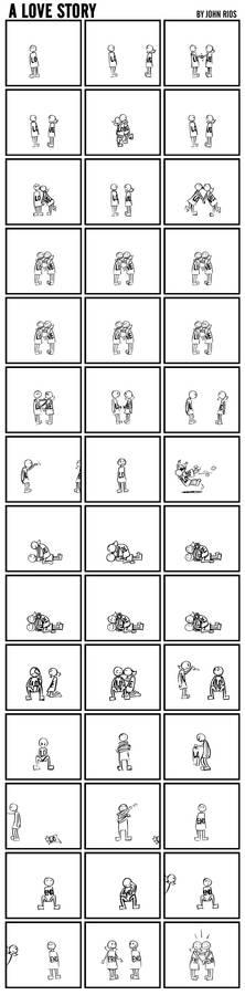 A Love Story By John Rios