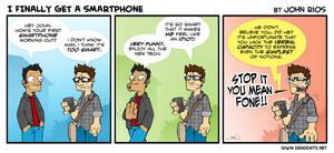 I Finally Get a Smartphone