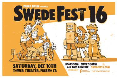 Swede Fest 16 Poster