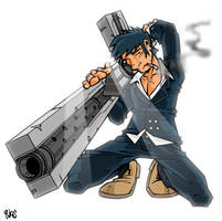 Senior Wolfwood by deaddays