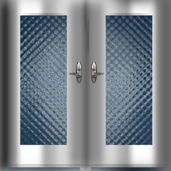 chrome double door w glass by tessett glass door texture64 door