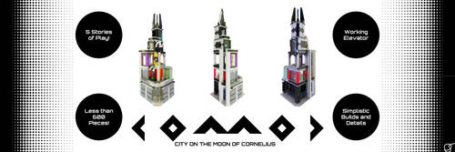 C O M O C: City on the Moon of Cornelius by DoctorSenpye