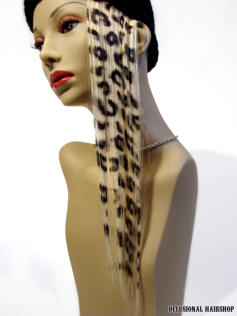 Bold Leopard Hair Extension By Schreixedxscreech On Deviantart