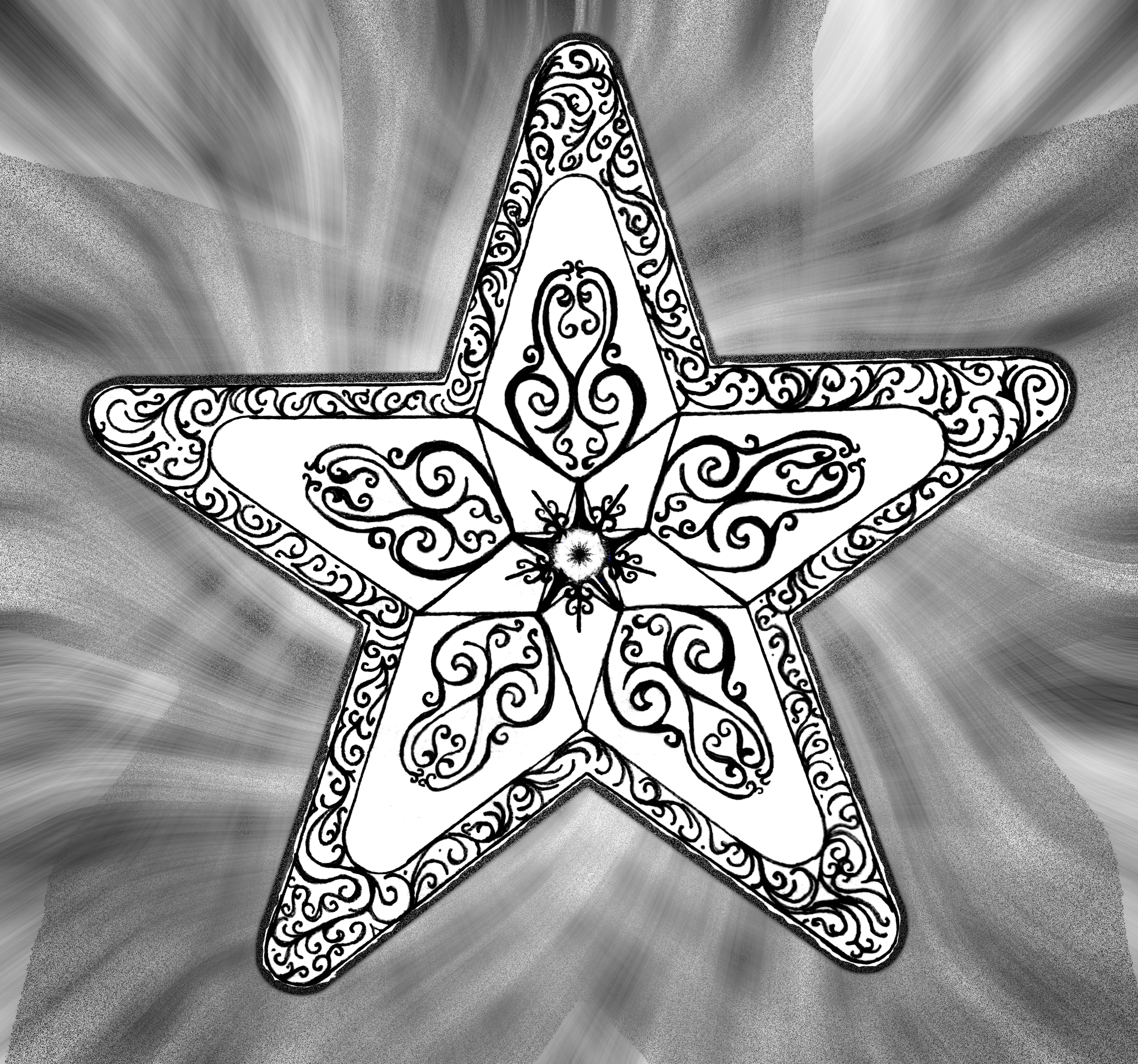 Five point urantia star by justinnotary on deviantart for Five points tattoo