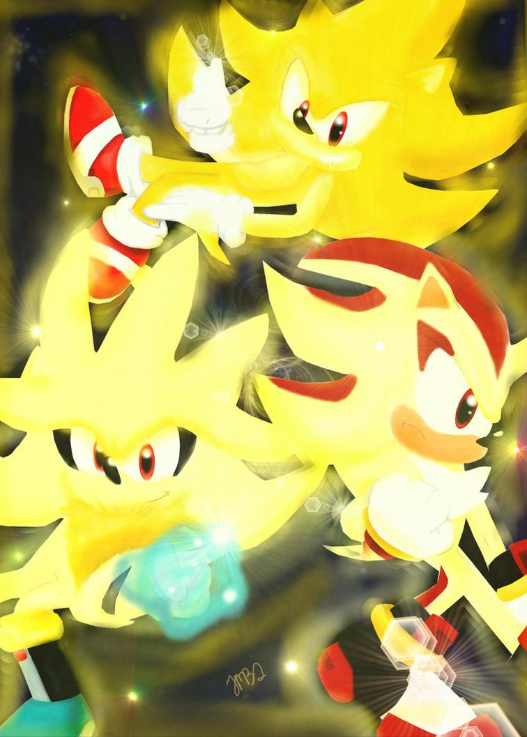 super hedgehogs recolor by jhoanaTHEhedgehog