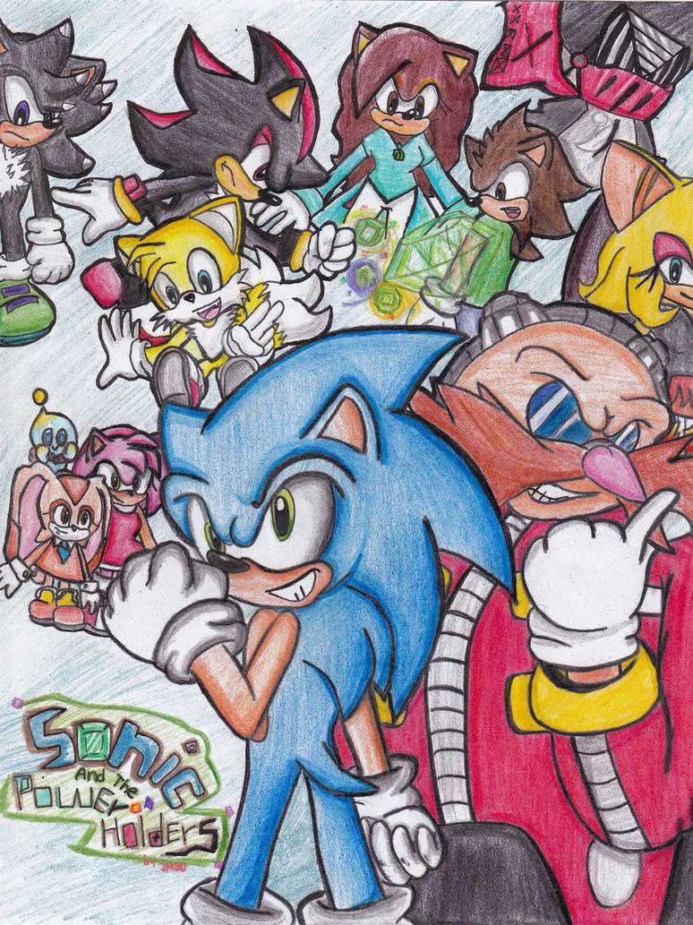 sonic and the power holders (comic coming soon) by jhoanaTHEhedgehog