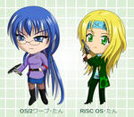 Chibi OS2 and RISC OS