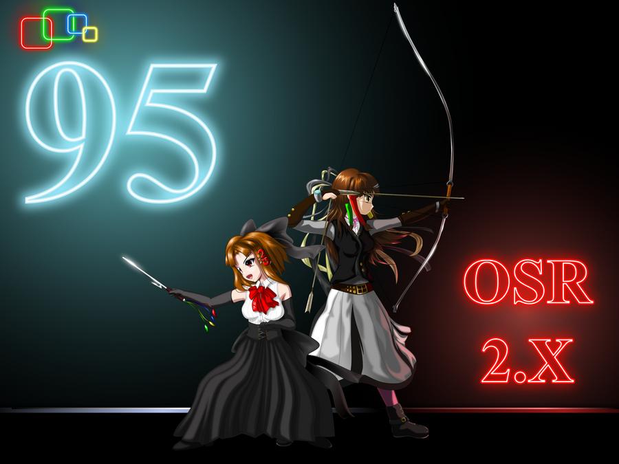 Windows95 OSR 2.x Sisters by C-quel