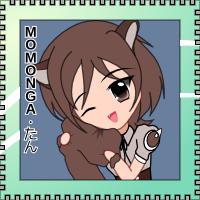 OS-tan Stamp - Momonga Linux