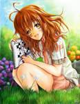 Miharu Garden Sketch