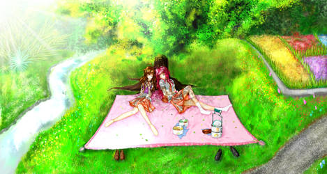 OP Garden Scene - Final by C-quel