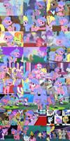 Violet Chronological Montage