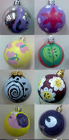 MLP Christmas Ornaments by C-quel