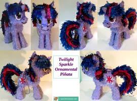 Twilight Sparkle Ornamental Pinata by C-quel