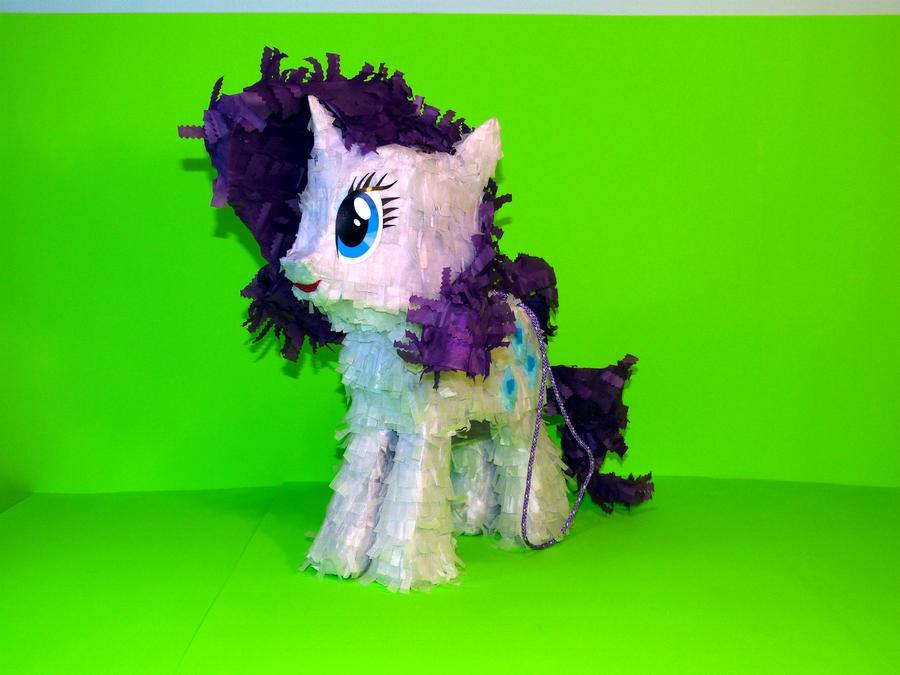 Rarity Paper Plushie ver.2 by C-quel