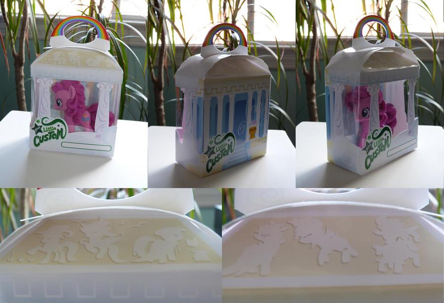 Cloudsdale House - Custom Retail Box Prototype by C-quel
