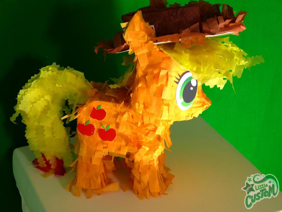 Applejack Petite Paper Plushie by C-quel