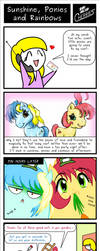 SDC - Sunshine, Ponies and Rainbows by C-quel