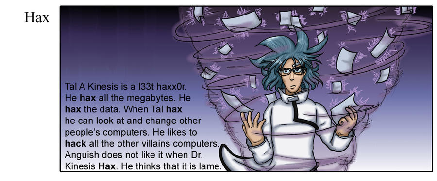 Evil Dictionary - Hax by stkbayfield