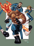 FANTASTIC 4 by Guile and Soul