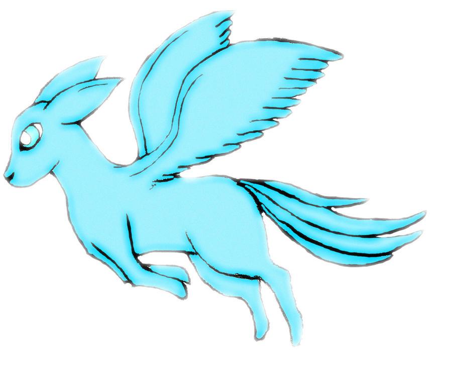 flying type - male eeveelution | Pokemon fusion art, Cute