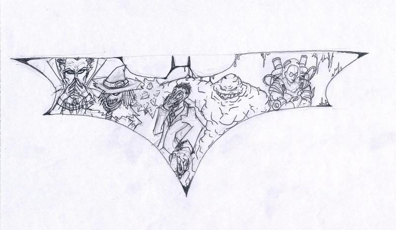 Batman Villains Project Planning Sketch By Bardielunit03 On Deviantart