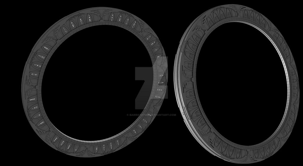 Stargate Universe Gate V2 by Barroth1989