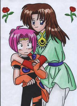 Mushra and Yakumo