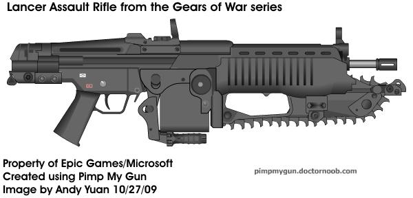 Lancer by Pimp My Gun by c-force