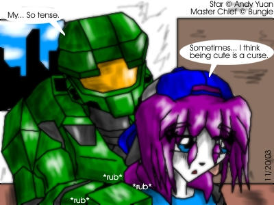 The Master Chief and I by c-force