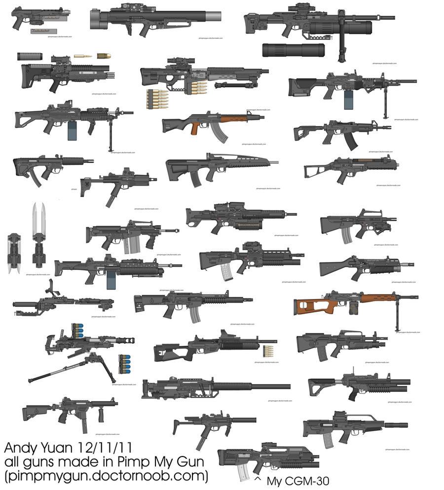 Rifles by Pimp My Gun 14 by c-force