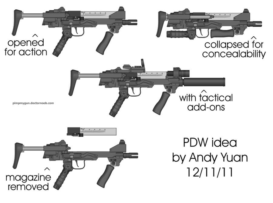 PDW design by c-force