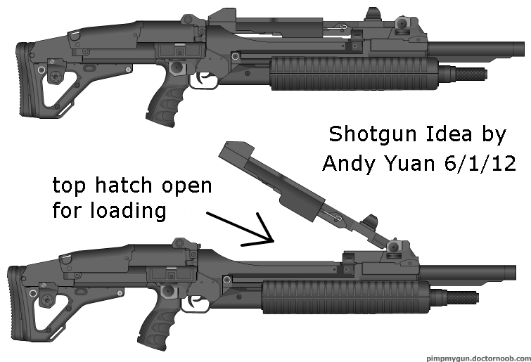 Shotgun Idea by c-force