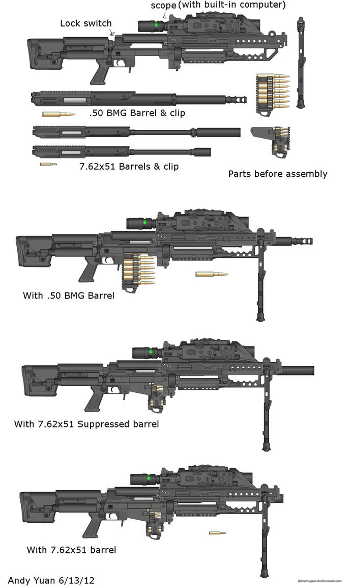 Sniper Rifle Entry by c-force