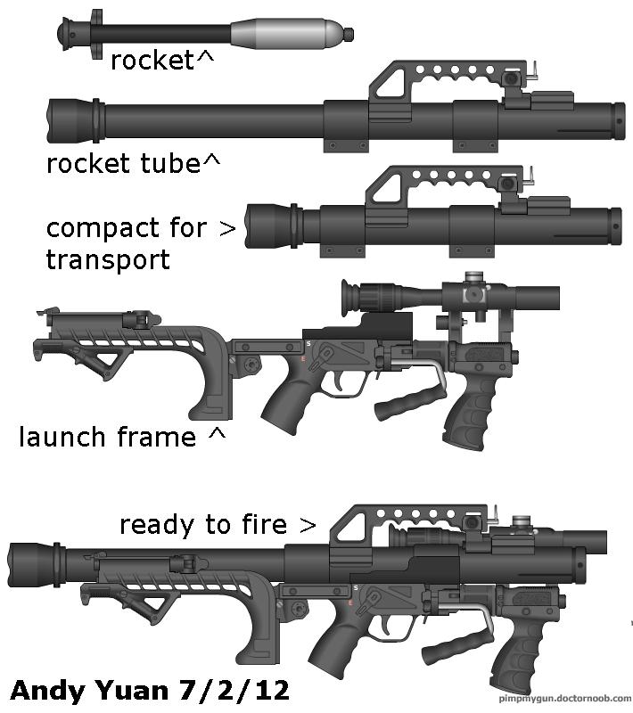 rocket launcher by c-force