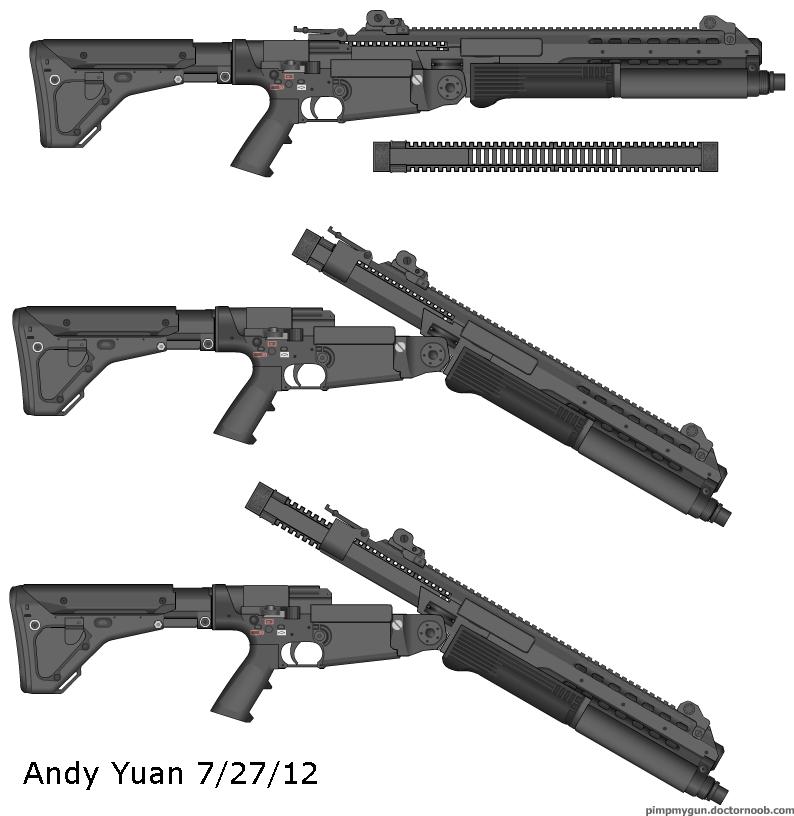 Shotgun Idea 2 by c-force